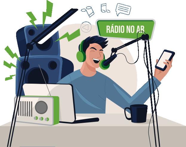 radialista radio brasil hits